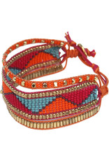 Sasha Association for Crafts Producers Beaded Explosion Bracelet