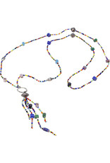 Sasha Association for Crafts Producers Brilliantly Beaded Tassel Necklace