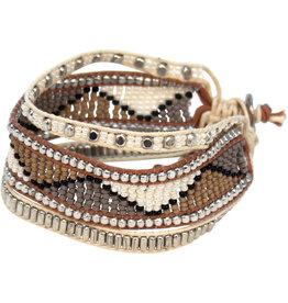 Sasha Association for Crafts Producers Beaded Desert Bracelet
