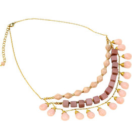 Sasha Association for Crafts Producers Much Love Multi-strand Necklace