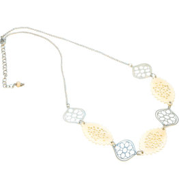 Sasha Association for Crafts Producers Marquise and Petal Necklace