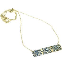 Sasha Association for Crafts Producers Finest Detail Embossed Necklace