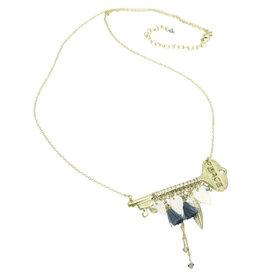 Sasha Association for Crafts Producers Unlocked Secrets Key Necklace