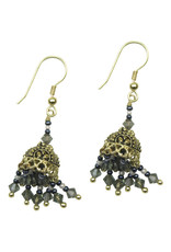 Sasha Association for Crafts Producers Chandelier Party Earrings