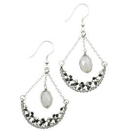 Sasha Association for Crafts Producers Night Magic Earrings