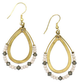 Sasha Association for Crafts Producers Fine Balance Teardrop Earrings
