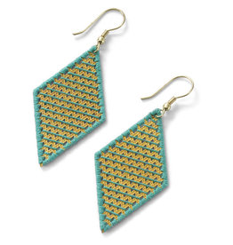 Sasha Association for Crafts Producers Wrap And Roll Diamond Earrings
