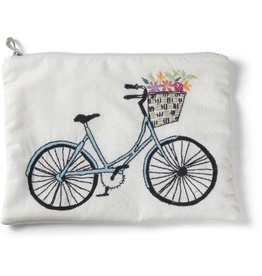 St. Mary's Bike and Flowers Travel Bag