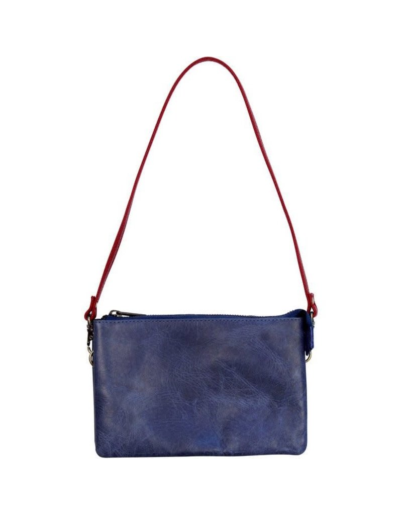 Craft Resource Center Perfect Pairing Leather Purse (Blue)