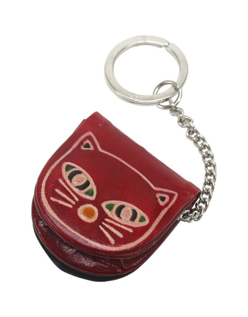 Craft Resource Center Kitty Keychain and Coin Purse