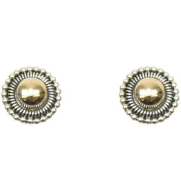 Pekerti Nusantara Sunburst Stud Earrings