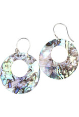 Mitra Bali Abalone Shell Earrings