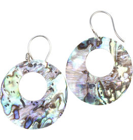 Mitra Bali Abalone Shell Earrings
