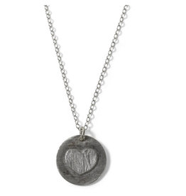 Mitra Bali Sterling Silver Heart Necklace