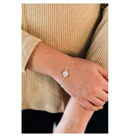 Mitra Bali Sterling Silver Heart Bracelet