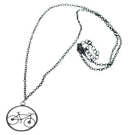Saffy Handicrafts Bicycle Capiz Necklace