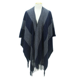 Maquita Cloudy Day Chenille Fringed Shawl