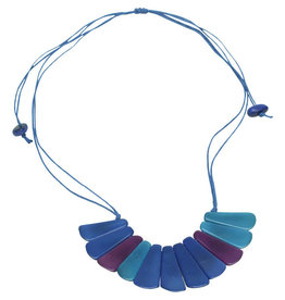 Maquita Sunburst Tagua Necklace
