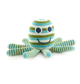 Kahiniwalla Green Octopus Rattle