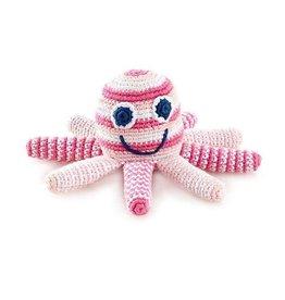 Kahiniwalla Pink Octopus Rattle