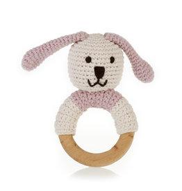 Kahiniwalla Pink Bunny Teething Ring