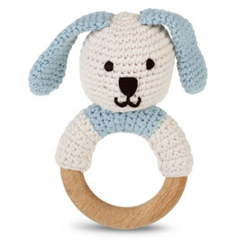 Kahiniwalla Blue Bunny Teething Ring