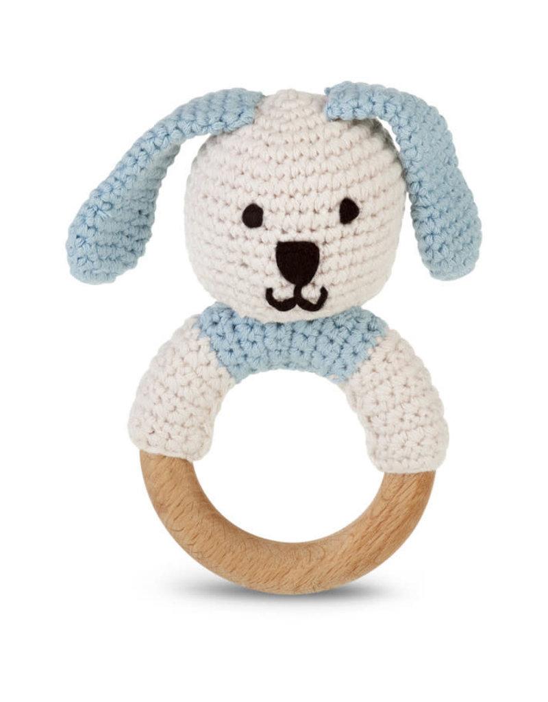 Kahiniwalla Blue Bunny Teething Ring