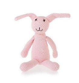 Kahiniwalla Pink Bunny Rattle