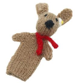 Intercrafts Peru Brown Bunny Finger Puppet