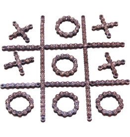 Noah's Ark Tic Tac Toe Bike Chain Game