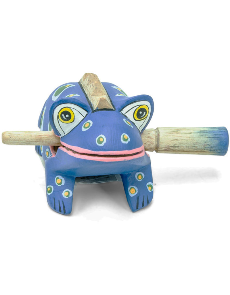 Mitra Bali Blue Spotted Frog Instrument
