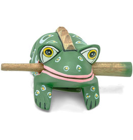 Mitra Bali Green Spotted Frog Instrument