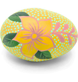 Mitra Bali Yellow Shaker Egg