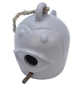 Association of Craft Producers Fish Face Bird Feeder (grey)