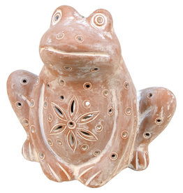 Corr the Jute Works Terracotta Frog