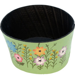 Noah's Ark Recycled Tire Garden Planter Lime Green