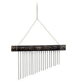 Mitra Bali Etched Bamboo Chime