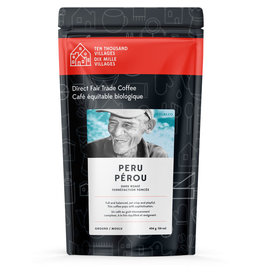 Level Ground Coffee Peruvian Dark Roast (Ground)