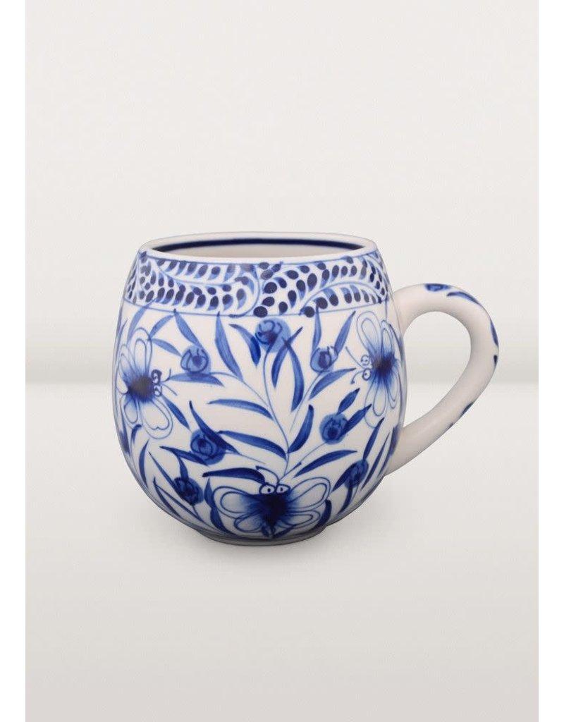 Craft Link Vietnamese Blue Mug