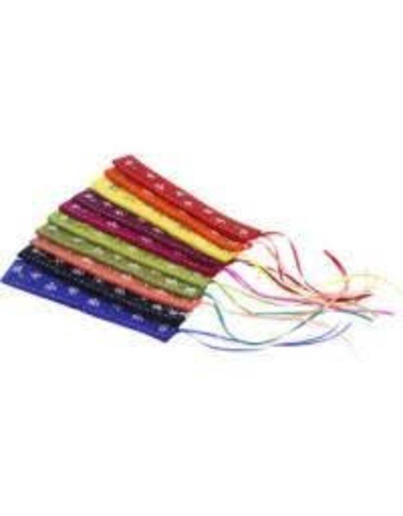 Association of Craft Producers Embroidered Flower Felt Bookmark