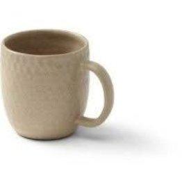 Mahaguthi Cream Honeycomb Stoneware Mug