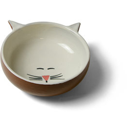 Sana Hastakala Ceramic Cat Food Dish