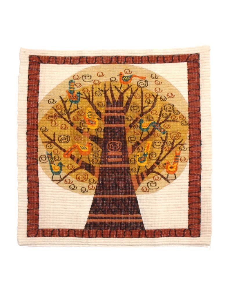 Intercrafts Peru Coiled Wool Tree Tapestry