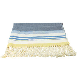 Allpa Shades of Blue Alpaca Throw