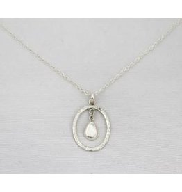 Allpa Sterling Silver Charm Necklace