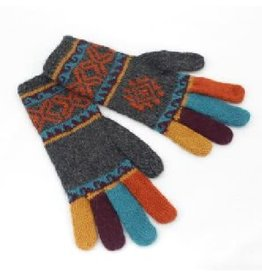 Manos Amigas Colourful Finger Gloves