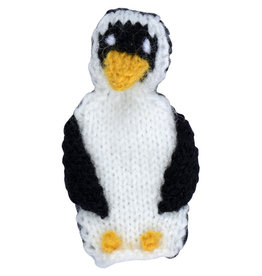 Intercrafts Peru Penguin Finger Puppet