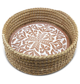 Corr the Jute Works Round Bread Warmer