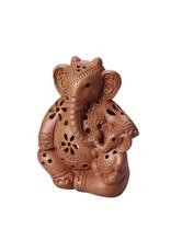 Corr the Jute Works Mama Elephant Candleholder