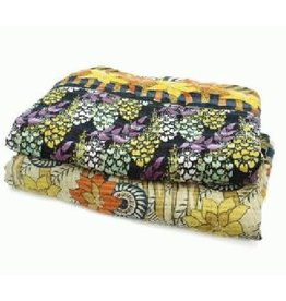 Prokritee Queen Duvet Cover Recycled Sari